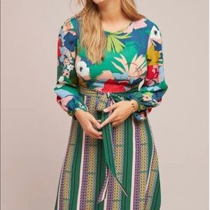 New Anthropologie Lucia Dress by Traffic People